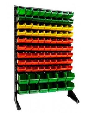 Стеллаж 93 ящика для магазина крепежа