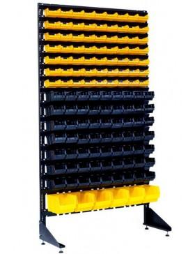Стеллаж на 132 лотка для крепежа