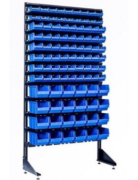 Стеллаж для СТО на 96 лотков для деталей