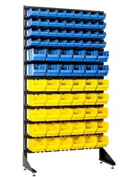 Стенд с 78 ящиками для метизов