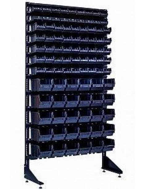 Стенд для склада с 93 ящиками для метизов