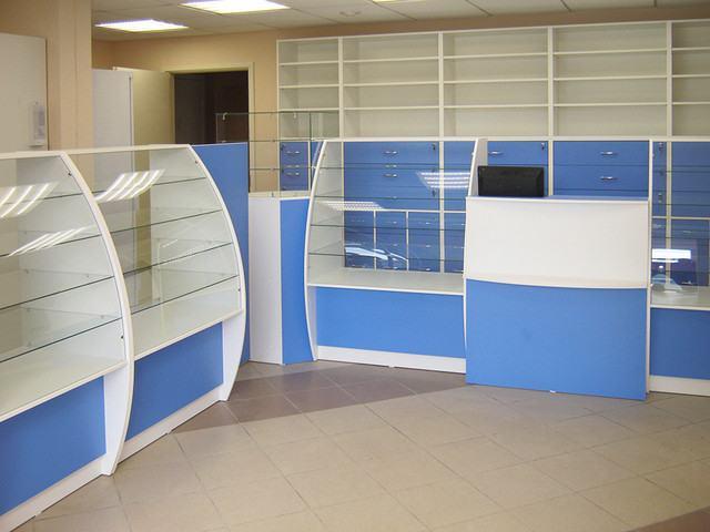 Мебель для аптек в Одессе