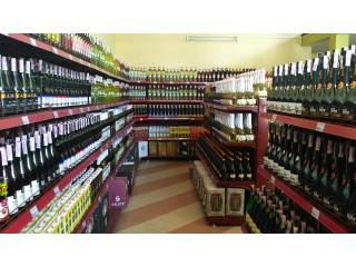 Торговые стеллажи для алкогольной продукции
