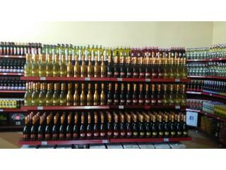 Торговые стеллажи для вина
