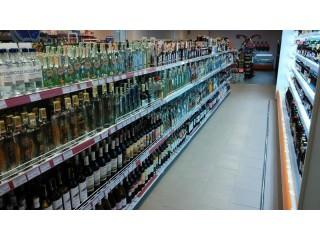 Стеллажи под алкогольную продукцию