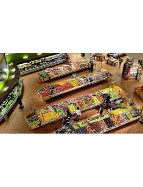 Стеллажи торговые для магазинов в Херсоне - лучшее торговое оборудования для предприятия