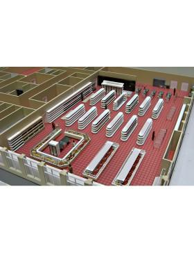 Стеллажи металлические торговые для  демонстрации продукции в магазинах Сумы