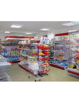 Стеллажи металлические для магазинов и супермаркетов Запорожье
