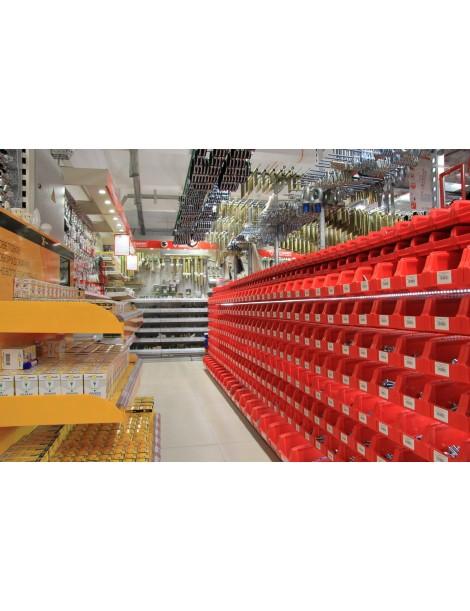 Коробки пластиковые для болтов, саморезов и фитингов на склад в Сумах