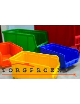 Контейнеры пластиковые для инструментов на склад и производство купить в Ужгороде