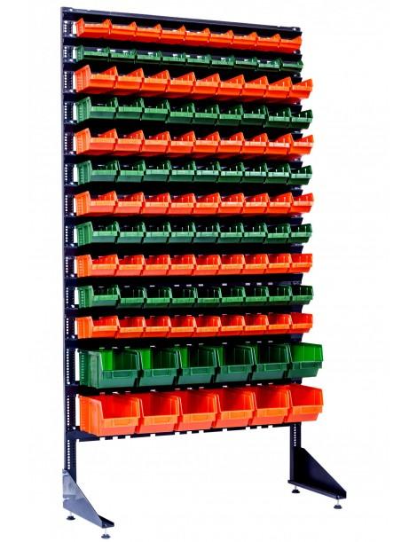 Стенды металлические на 111 ящиков для хранения фитингов и других деталей