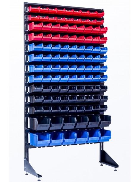 Складская витрина на 111 лотков для запчастей и метизов