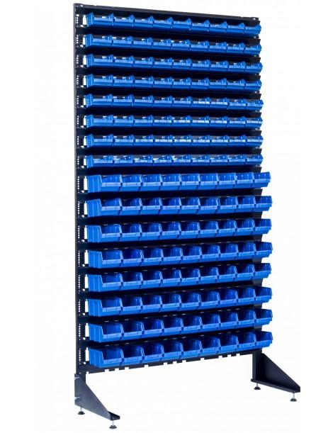 Стеллаж складской на 144 ячейки для фурнитуры