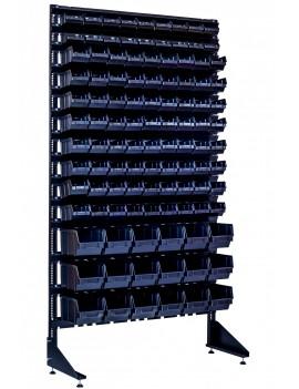 Метизный стеллаж на 108 ячеек для авто мастерской или гаража