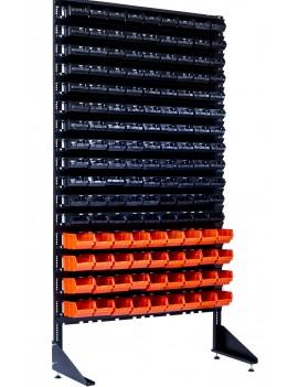Витрина под пластиковую тару - 144 ящика для магазина