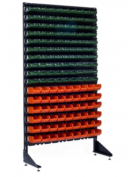 Cтеллажи для метизов на 144 кювета для выставок или транспортировок