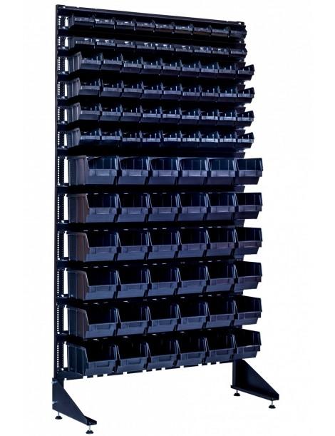 Оборудование под ящики для торговли метизов - 90 контейнеров