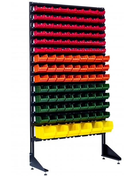 Витрина под метизы на 123 контейнера пластиковых