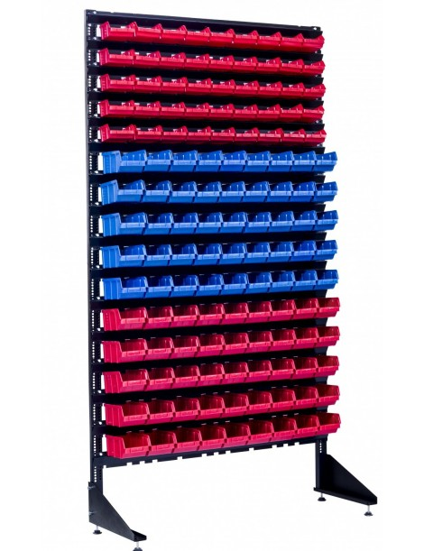 Стеллаж под метизы на 135 контейнеров для гаража или на производство