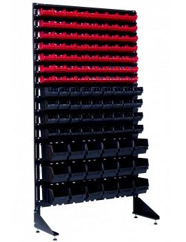 Односторонний стенд на 117 ящиков на СТО