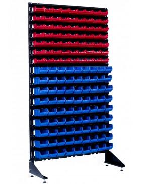 Стеллаж для метизов на 144 ящика для производства или магазина