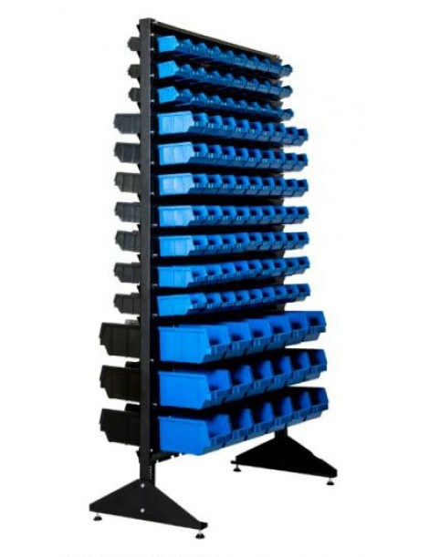 Стеллаж двусторонний 1800 мм на 216 кюветов