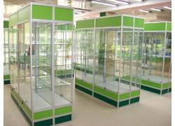 Торговые витрины из алюминиевого профиля Одесса