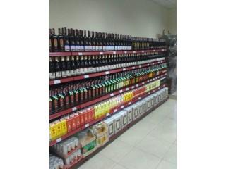 Торговые витрины для алкоголя