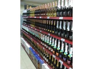 Купить стеллажи для продажи алкоголя