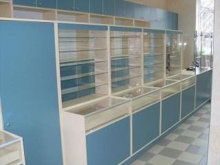 Заказать мебель для аптеки в Николаеве
