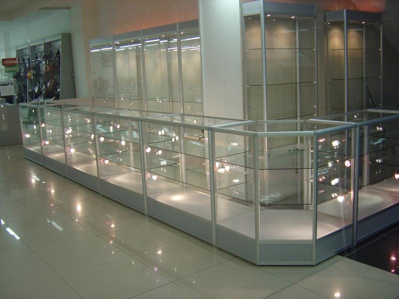 Купить прилавки из стекла