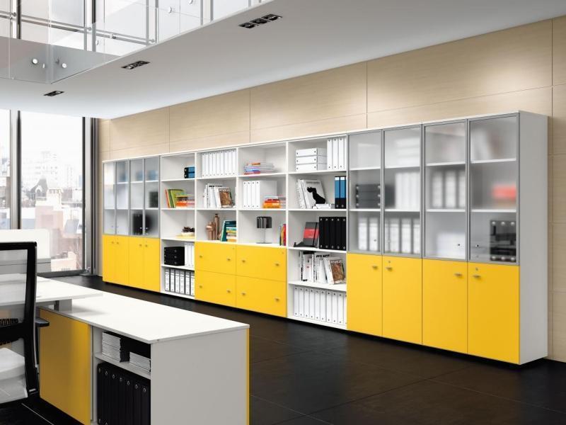Шкафы для офиса на заказ Одесса