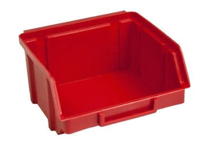 стеллажи для комплектующих с пластиковой тарой