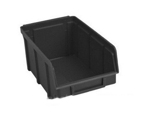 складской ящик пластиковый для иснструментов в магазин
