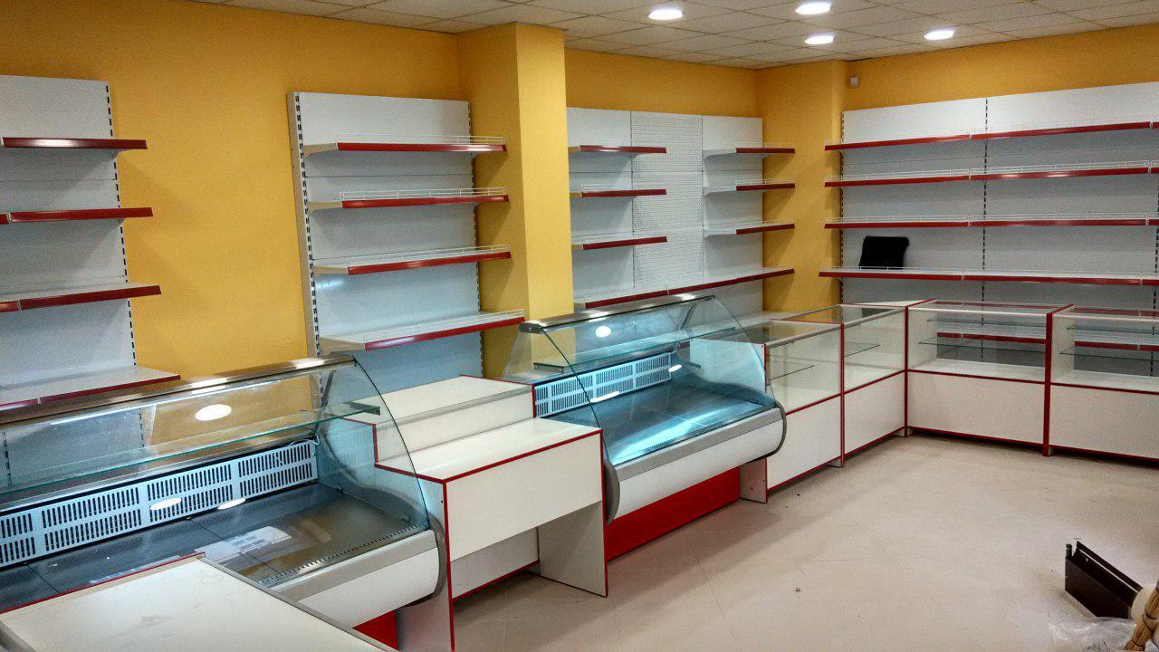 Прилавки для магазина на заказа Одесса